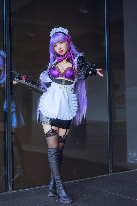 《Fate/Grand Order》BB 女僕裝Cosplay太火熱了啦 8