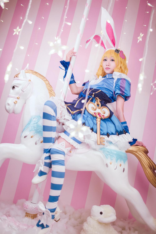 《王者榮耀》妲己仙境愛麗絲裝扮 歡迎來到Wonderland! 5
