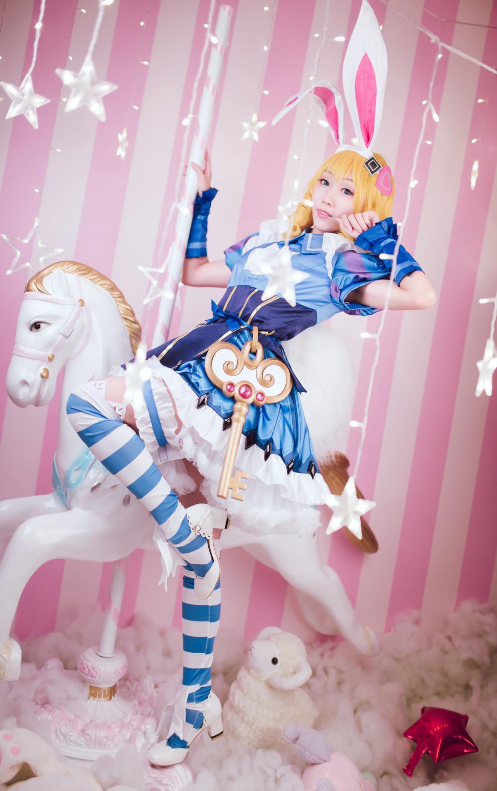 《王者榮耀》妲己仙境愛麗絲裝扮 歡迎來到Wonderland! 6