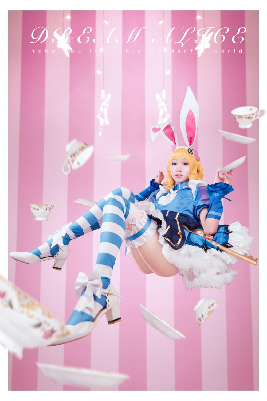 《王者榮耀》妲己仙境愛麗絲裝扮 歡迎來到Wonderland! 8