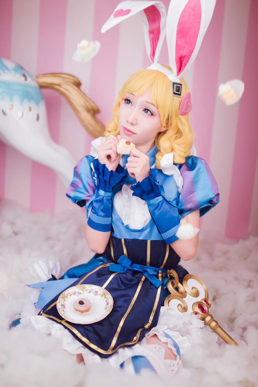 《王者榮耀》妲己仙境愛麗絲裝扮 歡迎來到Wonderland! 11
