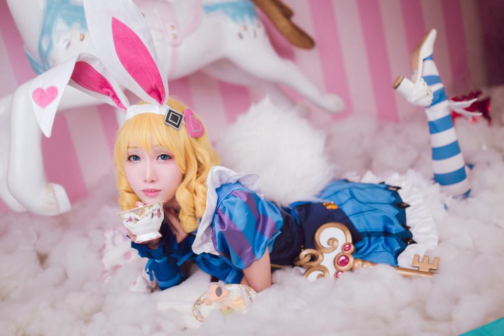 《王者榮耀》妲己仙境愛麗絲裝扮 歡迎來到Wonderland! 13