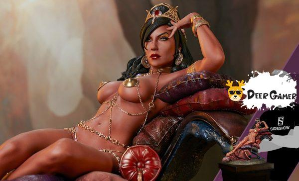 Sideshow 漫威漫畫《火星公主》火星公主 Dejah Thoris德賈托里斯 14寸雕像 1