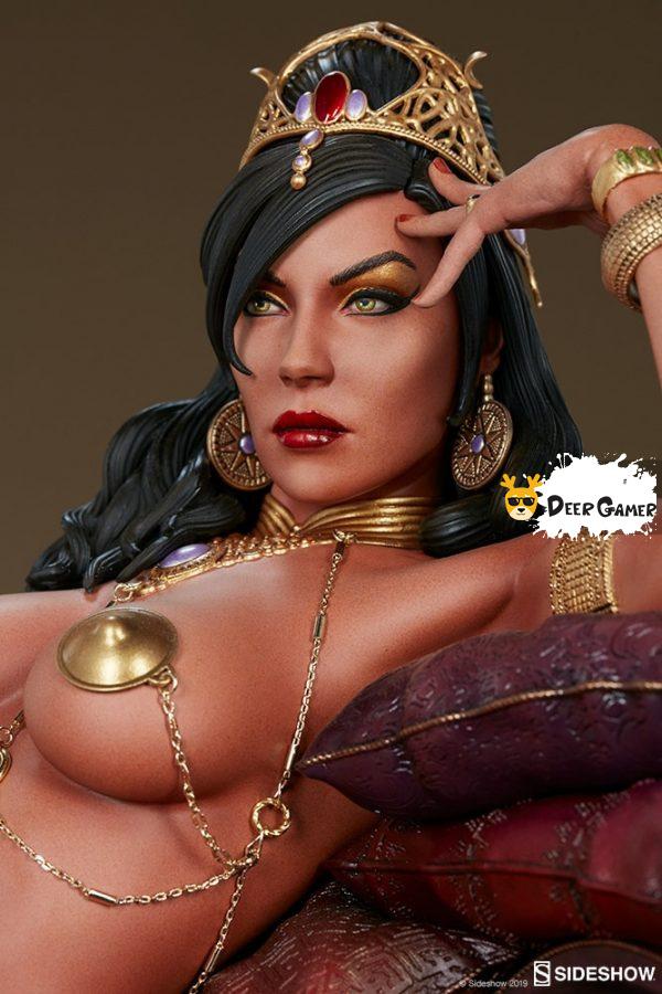 Sideshow 漫威漫畫《火星公主》火星公主 Dejah Thoris德賈托里斯 14寸雕像 2