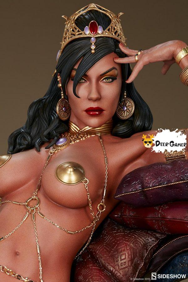 Sideshow 漫威漫畫《火星公主》火星公主 Dejah Thoris德賈托里斯 14寸雕像 3