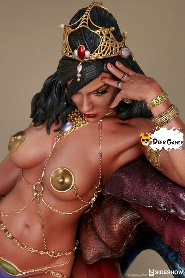 Sideshow 漫威漫畫《火星公主》火星公主 Dejah Thoris德賈托里斯 14寸雕像 4
