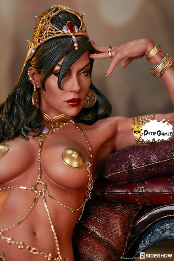 Sideshow 漫威漫畫《火星公主》火星公主 Dejah Thoris德賈托里斯 14寸雕像 8
