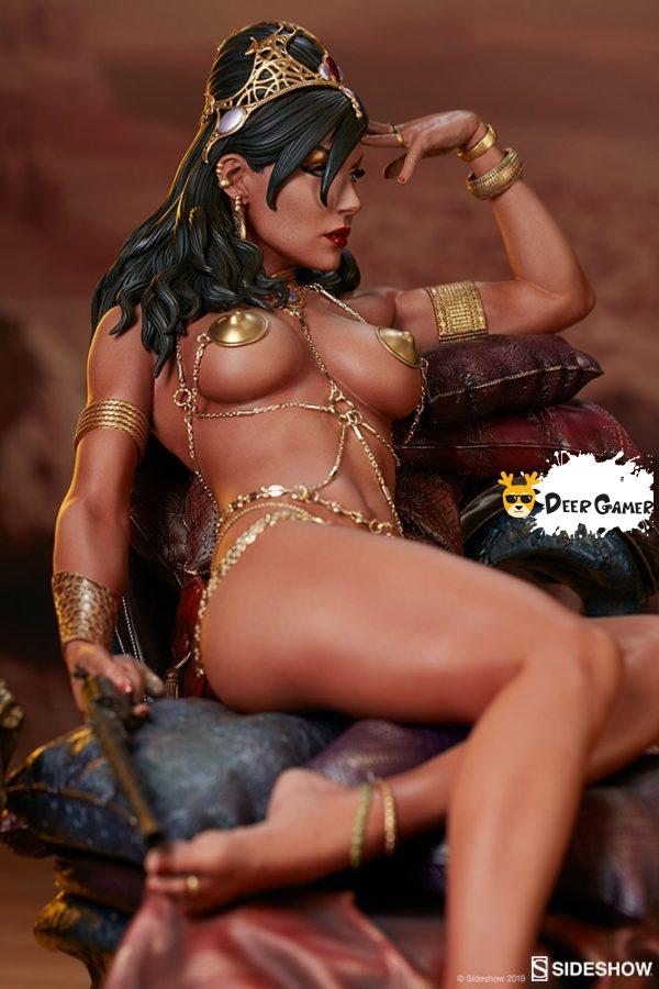 Sideshow 漫威漫畫《火星公主》火星公主 Dejah Thoris德賈托里斯 14寸雕像 9