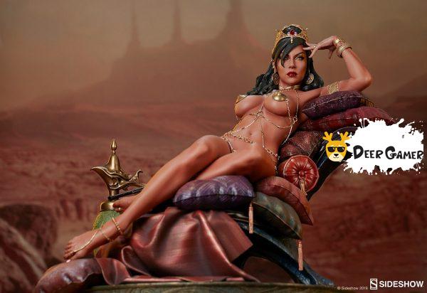 Sideshow 漫威漫畫《火星公主》火星公主 Dejah Thoris德賈托里斯 14寸雕像 10