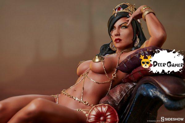 Sideshow 漫威漫畫《火星公主》火星公主 Dejah Thoris德賈托里斯 14寸雕像 11