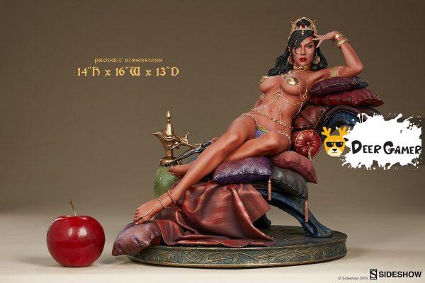 Sideshow 漫威漫畫《火星公主》火星公主 Dejah Thoris德賈托里斯 14寸雕像 13