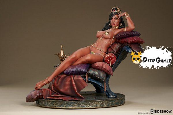 Sideshow 漫威漫畫《火星公主》火星公主 Dejah Thoris德賈托里斯 14寸雕像 14