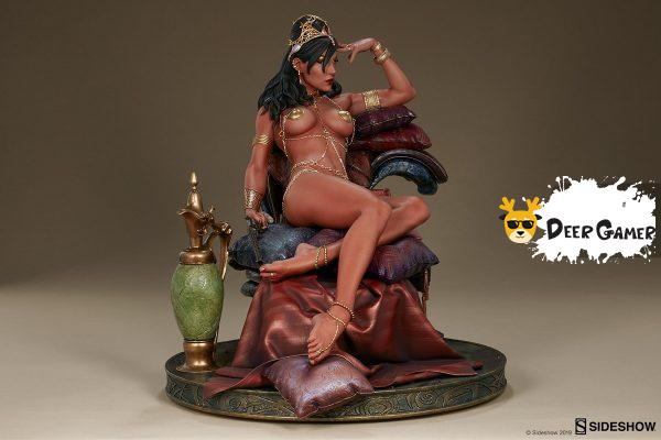 Sideshow 漫威漫畫《火星公主》火星公主 Dejah Thoris德賈托里斯 14寸雕像 18