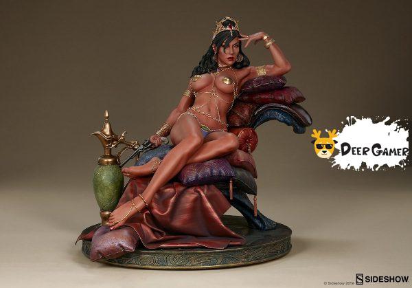 Sideshow 漫威漫畫《火星公主》火星公主 Dejah Thoris德賈托里斯 14寸雕像 19