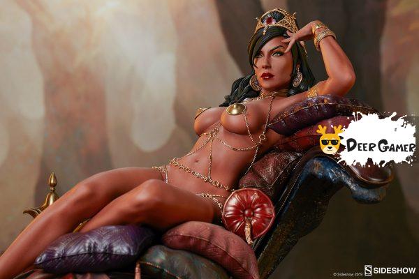 Sideshow 漫威漫畫《火星公主》火星公主 Dejah Thoris德賈托里斯 14寸雕像 24
