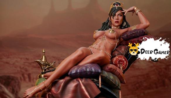 Sideshow 漫威漫畫《火星公主》火星公主 Dejah Thoris德賈托里斯 14寸雕像 25