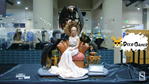 【SDCC2019】BLITZWAY x Prime 1 Studio《權力的遊戲》龍媽1:4 雕像 1