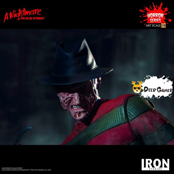Iron Studios《猛鬼街》弗萊迪1:10雕像 2
