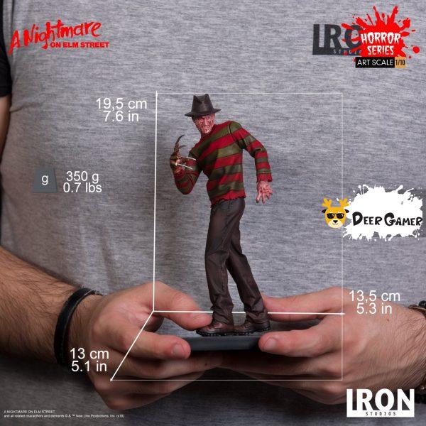 Iron Studios《猛鬼街》弗萊迪1:10雕像 14