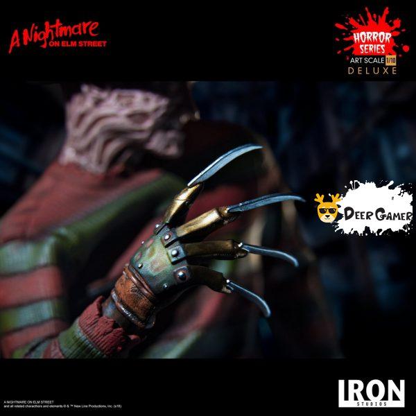 Iron Studios《猛鬼街》弗萊迪1:10雕像 16