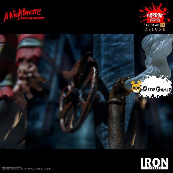 Iron Studios《猛鬼街》弗萊迪1:10雕像 17