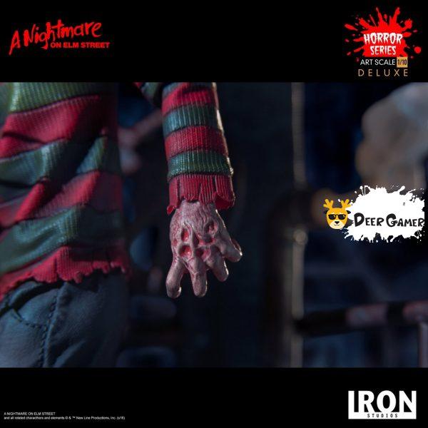 Iron Studios《猛鬼街》弗萊迪1:10雕像 18