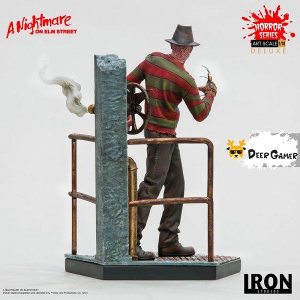 Iron Studios《猛鬼街》弗萊迪1:10雕像 22