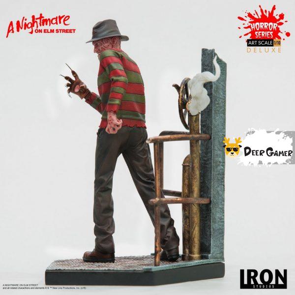 Iron Studios《猛鬼街》弗萊迪1:10雕像 23