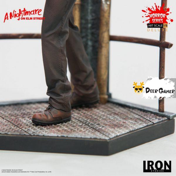 Iron Studios《猛鬼街》弗萊迪1:10雕像 25