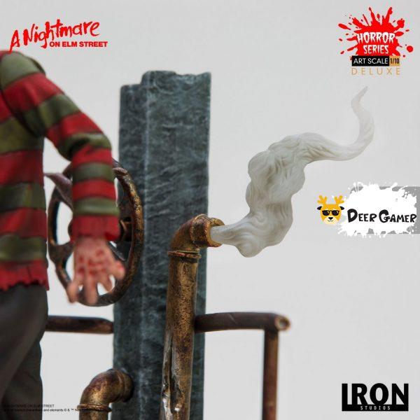 Iron Studios《猛鬼街》弗萊迪1:10雕像 27