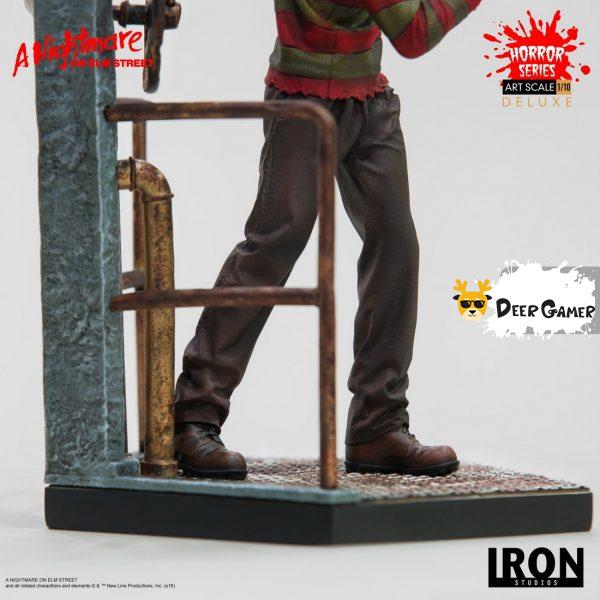 Iron Studios《猛鬼街》弗萊迪1:10雕像 29