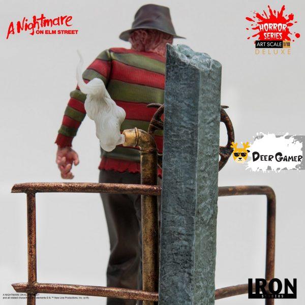 Iron Studios《猛鬼街》弗萊迪1:10雕像 30