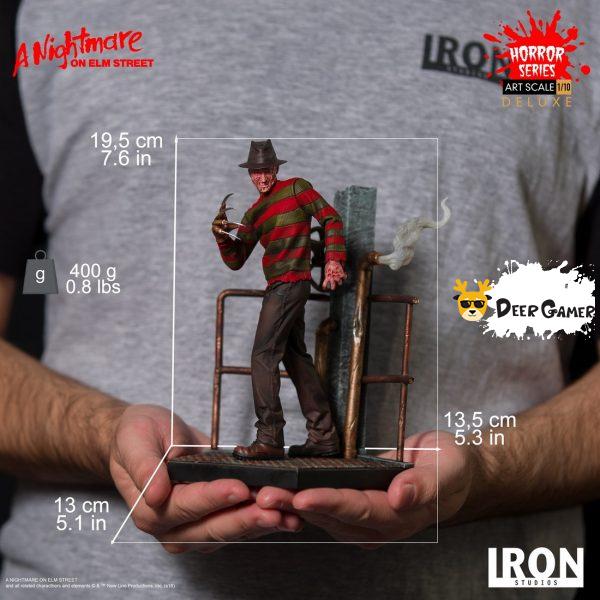 Iron Studios《猛鬼街》弗萊迪1:10雕像 33