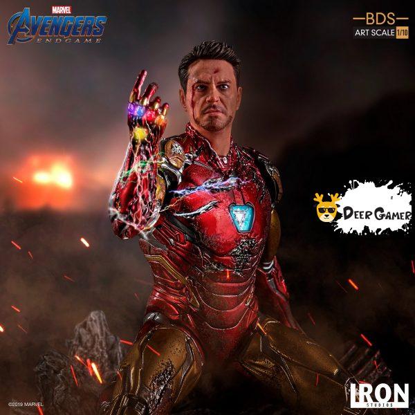 Iron Studios《復仇者聯盟4:終局之戰》 我是鋼鐵俠 1:10雕像 1