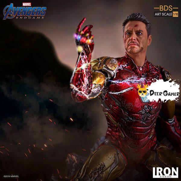 Iron Studios《復仇者聯盟4:終局之戰》 我是鋼鐵俠 1:10雕像 2
