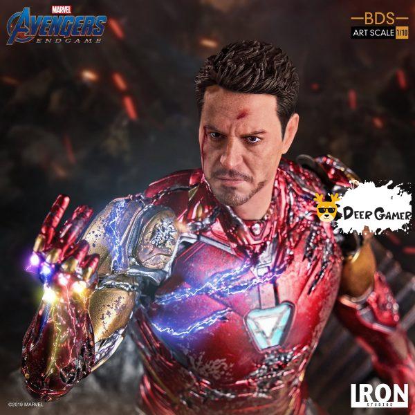 Iron Studios《復仇者聯盟4:終局之戰》 我是鋼鐵俠 1:10雕像 3