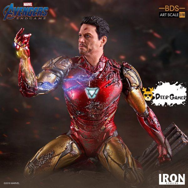 Iron Studios《復仇者聯盟4:終局之戰》 我是鋼鐵俠 1:10雕像 4
