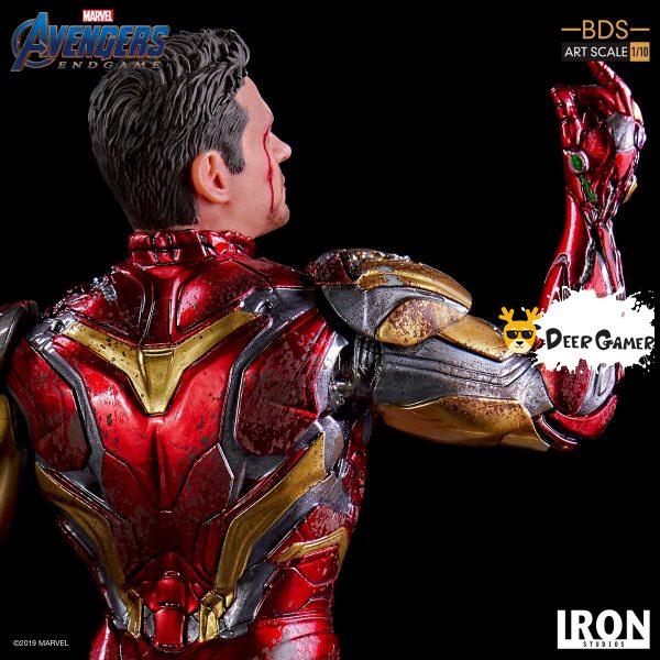 Iron Studios《復仇者聯盟4:終局之戰》 我是鋼鐵俠 1:10雕像 5