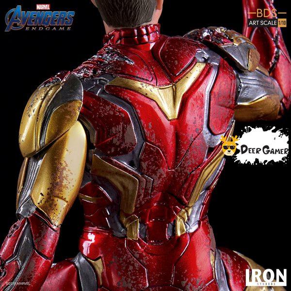 Iron Studios《復仇者聯盟4:終局之戰》 我是鋼鐵俠 1:10雕像 6