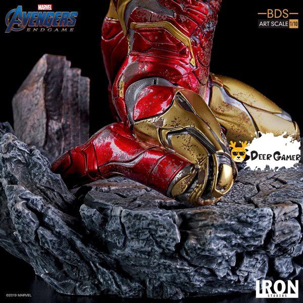 Iron Studios《復仇者聯盟4:終局之戰》 我是鋼鐵俠 1:10雕像 7