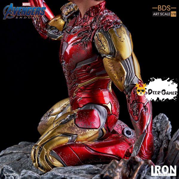 Iron Studios《復仇者聯盟4:終局之戰》 我是鋼鐵俠 1:10雕像 8