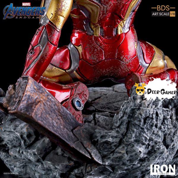 Iron Studios《復仇者聯盟4:終局之戰》 我是鋼鐵俠 1:10雕像 9