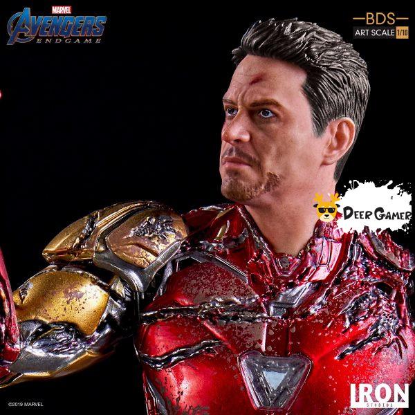 Iron Studios《復仇者聯盟4:終局之戰》 我是鋼鐵俠 1:10雕像 10