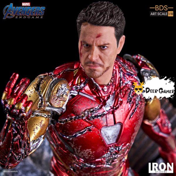 Iron Studios《復仇者聯盟4:終局之戰》 我是鋼鐵俠 1:10雕像 11