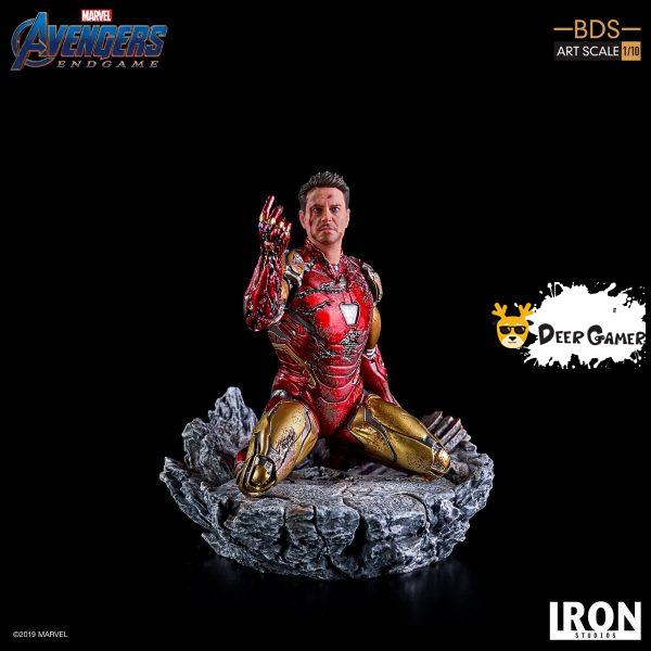 Iron Studios《復仇者聯盟4:終局之戰》 我是鋼鐵俠 1:10雕像 12