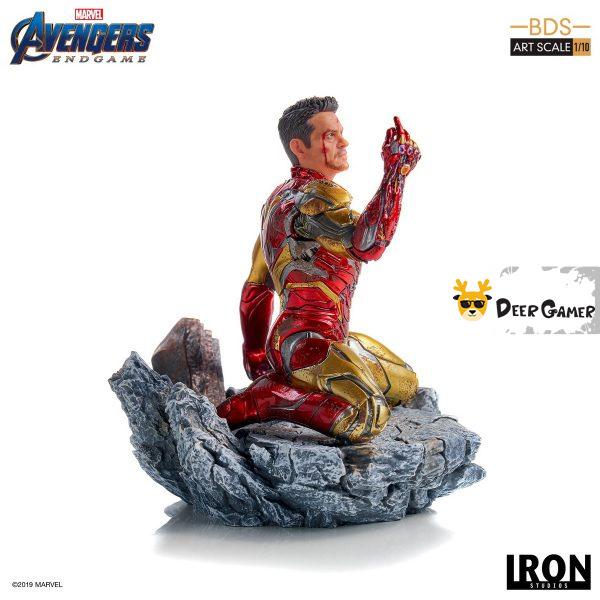 Iron Studios《復仇者聯盟4:終局之戰》 我是鋼鐵俠 1:10雕像 14