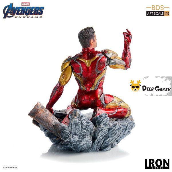 Iron Studios《復仇者聯盟4:終局之戰》 我是鋼鐵俠 1:10雕像 15