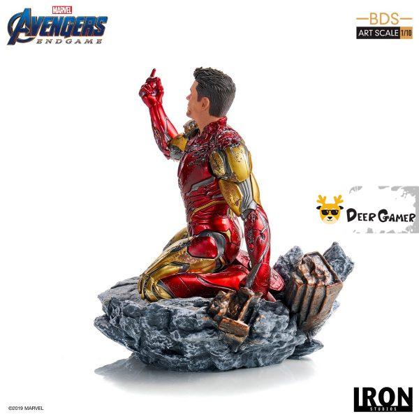 Iron Studios《復仇者聯盟4:終局之戰》 我是鋼鐵俠 1:10雕像 16