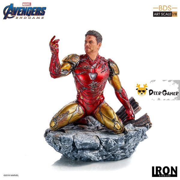 Iron Studios《復仇者聯盟4:終局之戰》 我是鋼鐵俠 1:10雕像 17