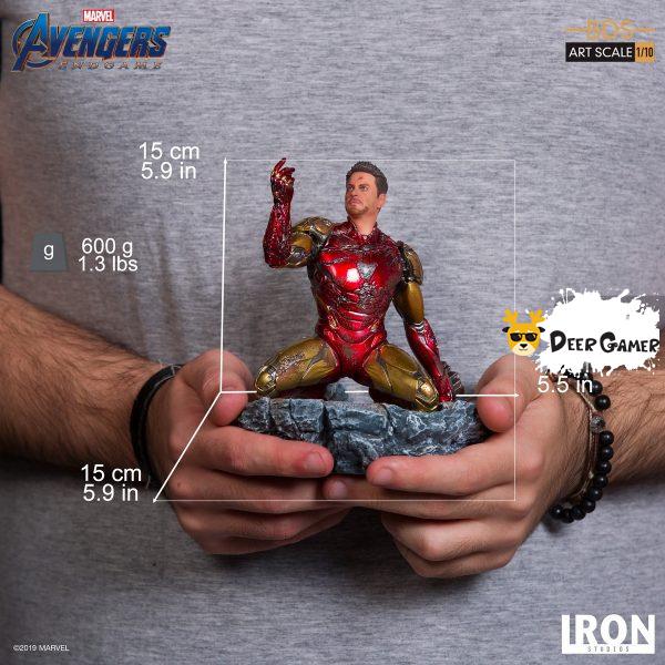 Iron Studios《復仇者聯盟4:終局之戰》 我是鋼鐵俠 1:10雕像 18